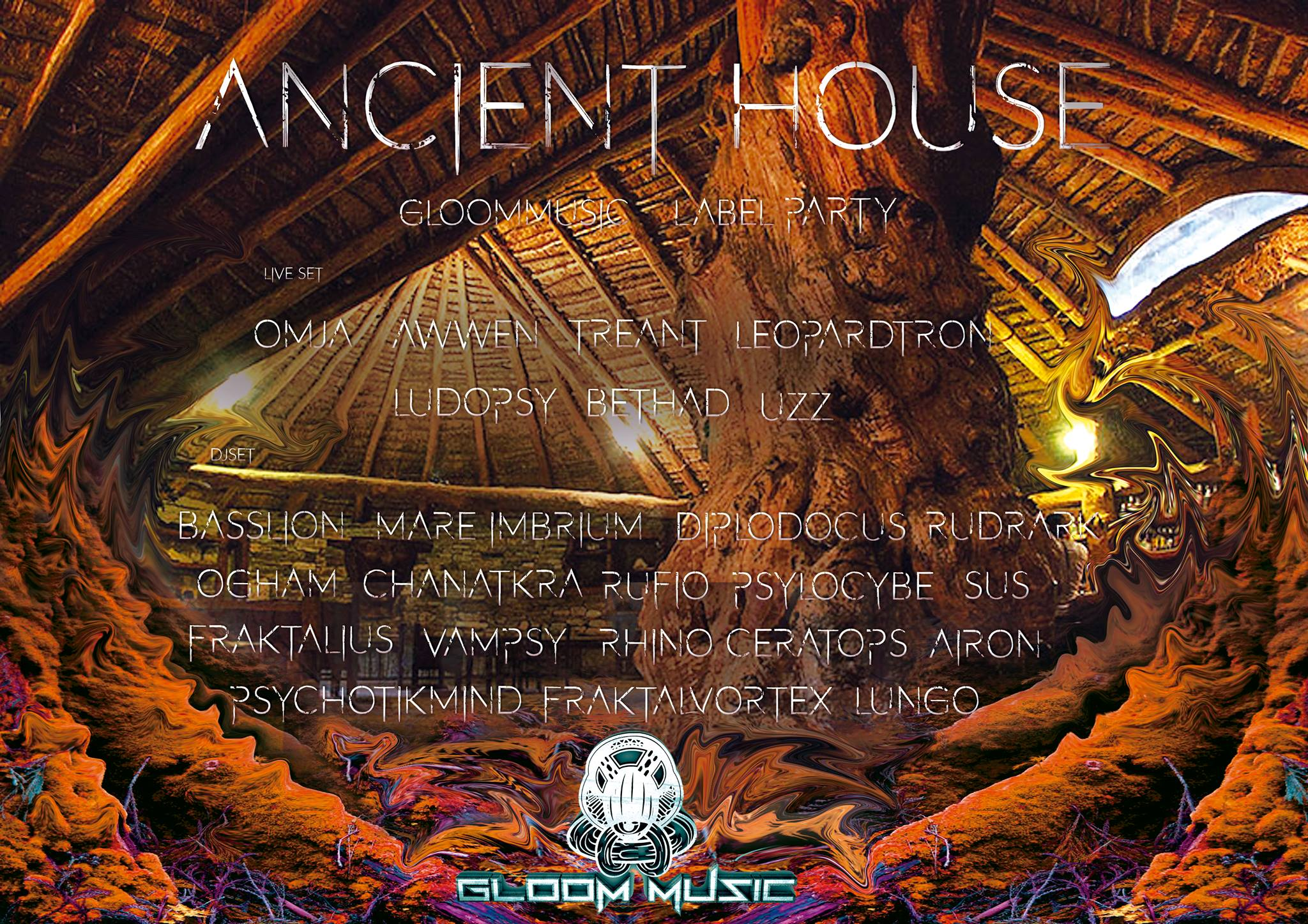 GloOm Music Label Party; The Ancient House III 1